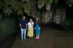 神秘的な千仏鍾乳洞の探検記