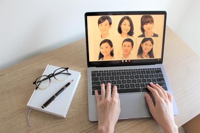 ビデオ会議の画像